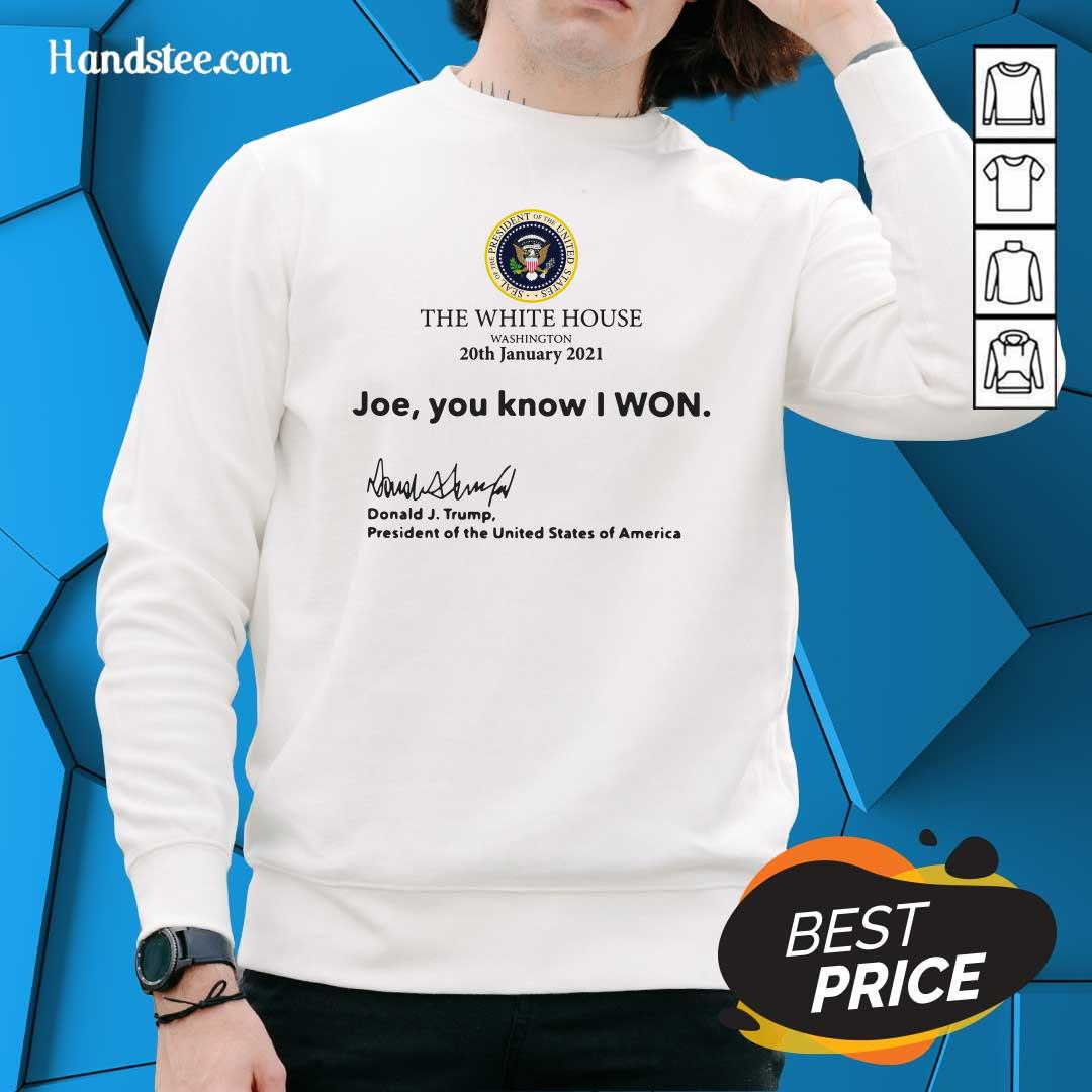 Cool 12 White House America Sweater - Design by Handstee.com