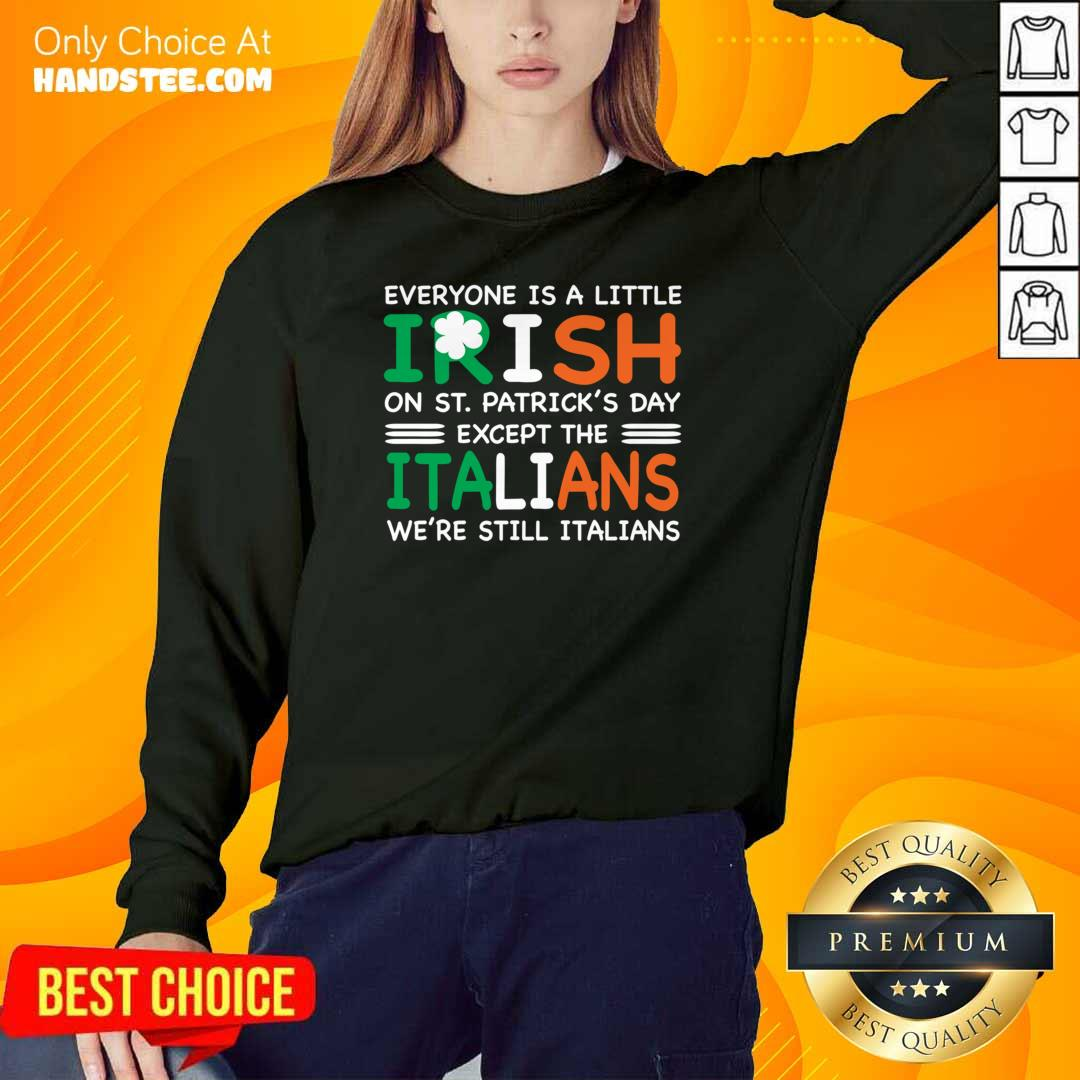 Cute 7 St Patricks Except The Italians Sweater - Design by Handstee.com