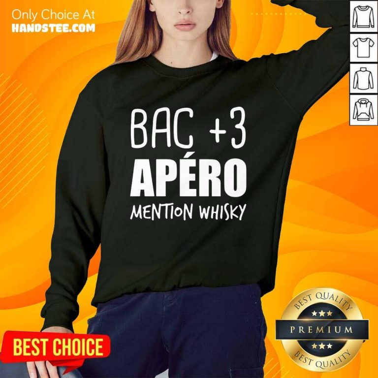 Delighted Bac 3 Apéro Mention Whisky Sweater