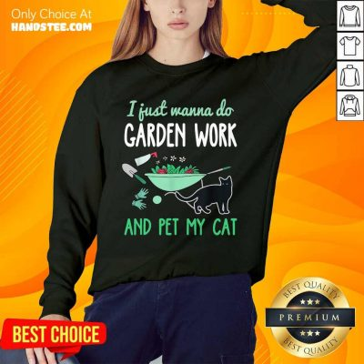 Delighted Gardening Cat Lover 2 Sweater - Design By Handstee.com