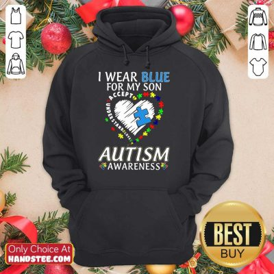 Ecstatic I Wear Blue For My Son Hoodie