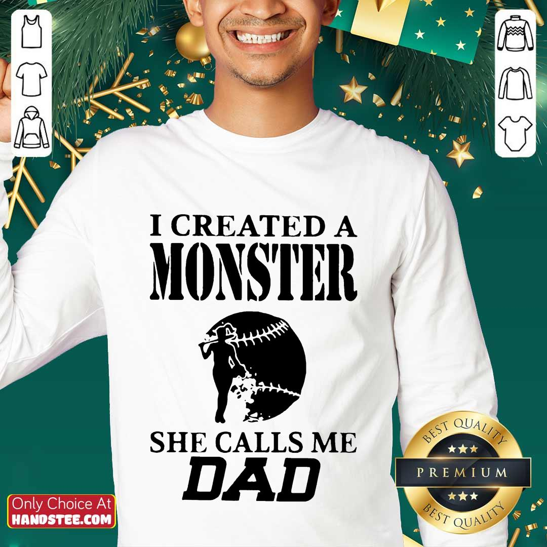 Excited 2 I Created A Monster Dad Super Sweater- Design By Handstee.com