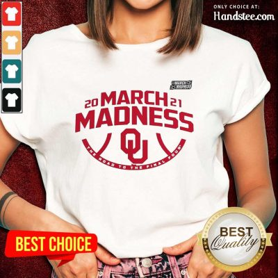 Excited Oklahoma 2021 March Madness Ladies Tee - Design By Handstee.com