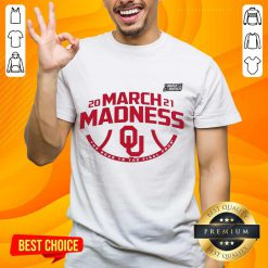 Excited Oklahoma 2021 March Madness Shirt - Design By Handstee.com