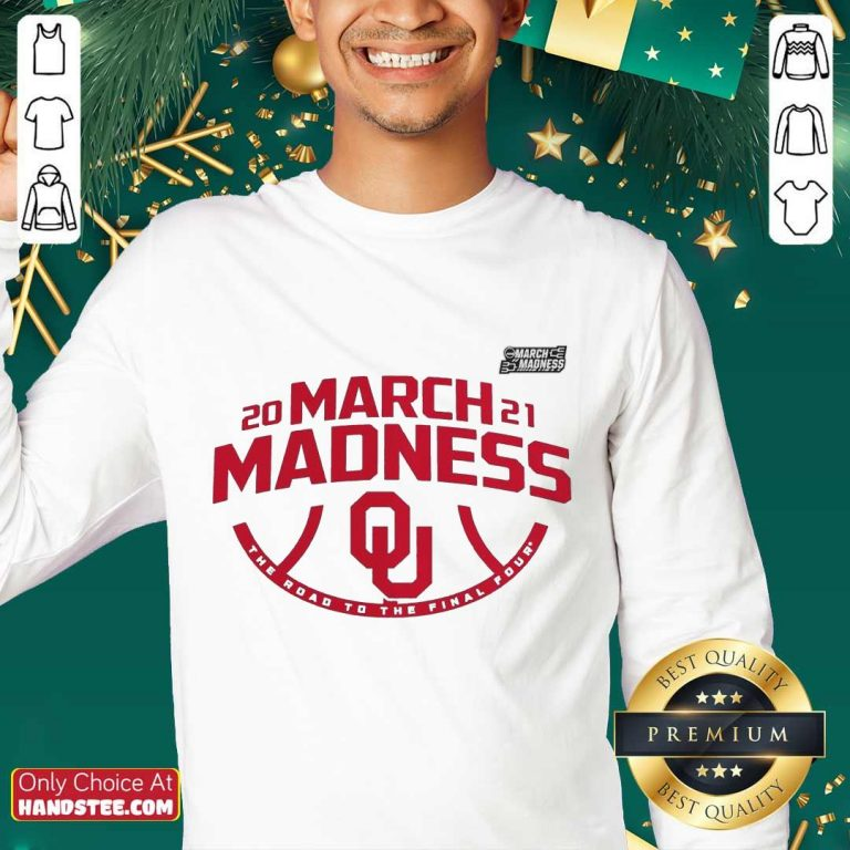 Excited Oklahoma 2021 March Madness Sweater - Design By Handstee.com