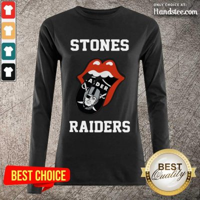 Excited Stones Raiders 2021 Long-Sleeved - Design By Handstee.com