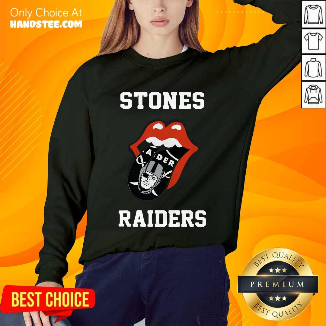Excited Stones Raiders 2021 Sweater - Design By Handstee.com