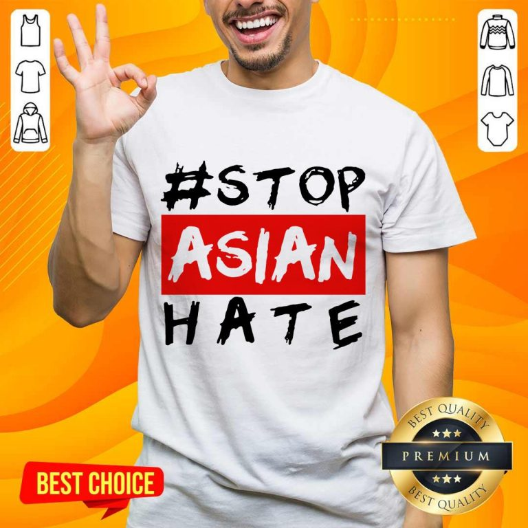 Excited Stop Asian Hate Overjoyed Shirt