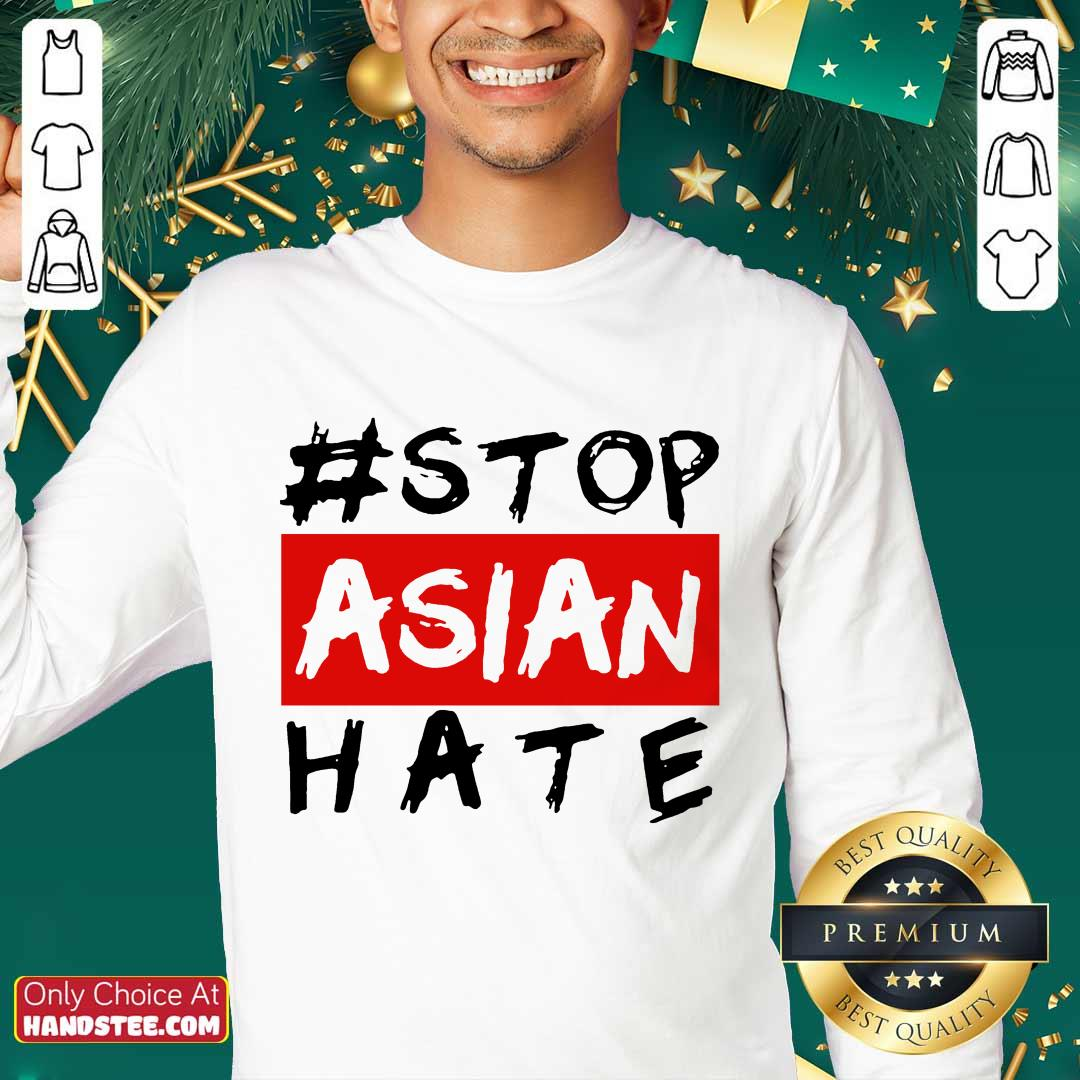 Excited Stop Asian Hate Overjoyed Sweater