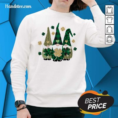 Gnomes 7 Happy St Patricks Day Sweater - Design by Handstee.com