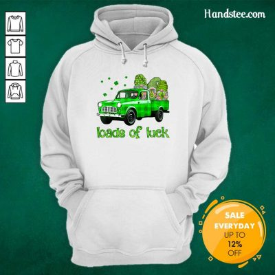 Gnomes Luck St Patricks Day Hoodie - Design by Handstee.com