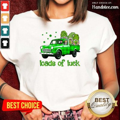 Gnomes Luck St Patricks Day Ladies Tee - Design by Handstee.com