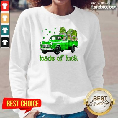 Gnomes Luck St Patricks Day Long-Sleeved - Design by Handstee.com