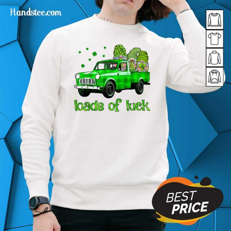 Gnomes Luck St Patricks Day Sweater - Design by Handstee.com