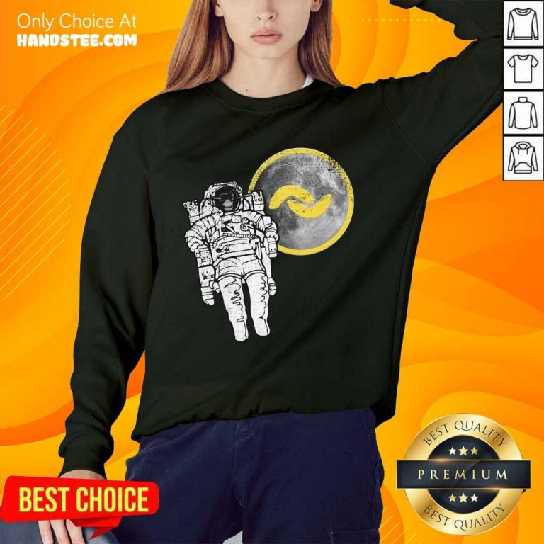 Great 1 Banano Monkey To The Moon Sweater - Design By Handstee.com