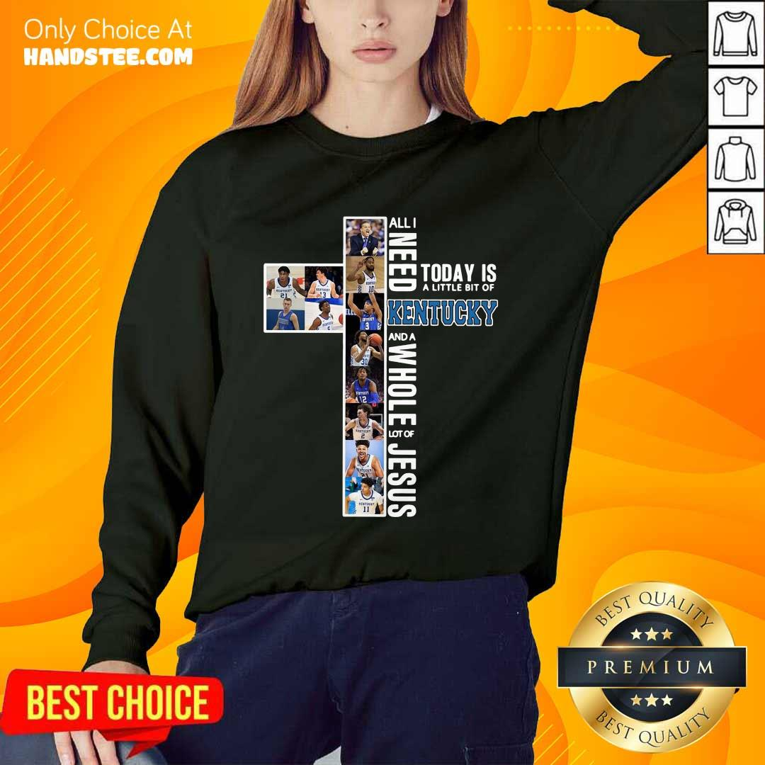Great Need Today Is Kentucky And Jesus Sweater - Design By Handstee.com