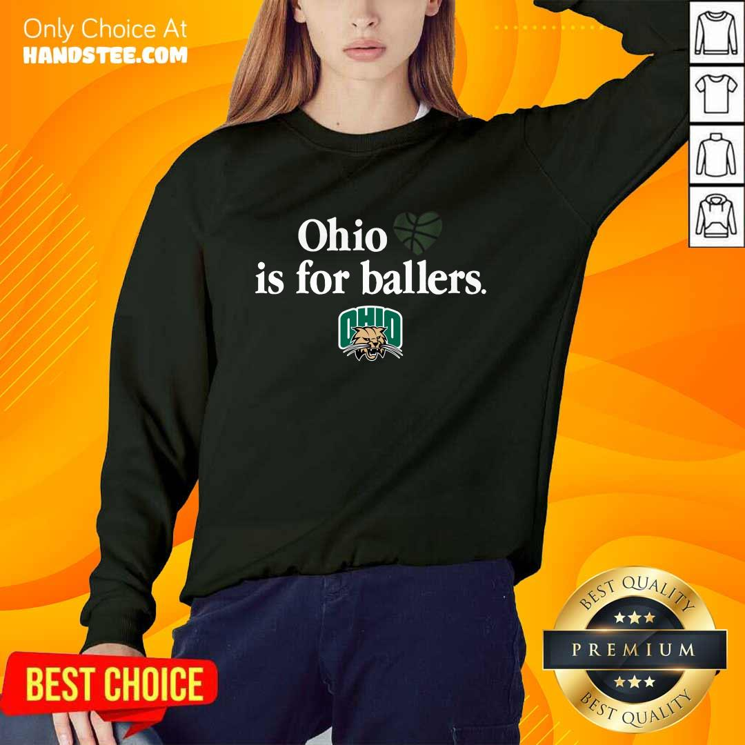 Great Ohio Is For Ballers Sweater - Design By Handstee.com
