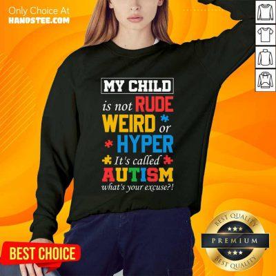 Happy My Child Rude Weird Hyper Sweater
