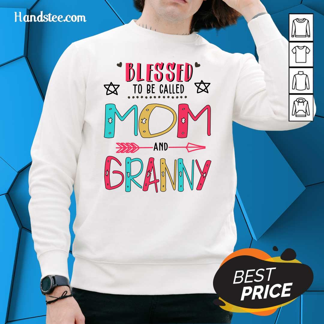 Hot Blessed 4 Granny Mother Sweater - Design by Handstee.com