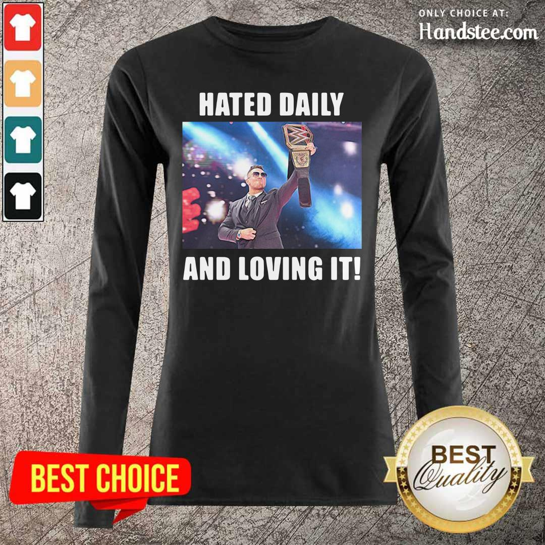 Hot Hated Daily 2 Loving It Long Sleeved - Design by Handstee.com