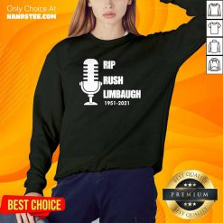 Hot Rip Rush Limbaugh 1951 2021 Sweater - Design by Handstee.com