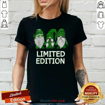 Limited Edition Gnomes 2 St Patricks Ladies Tee - Design by Handstee.com