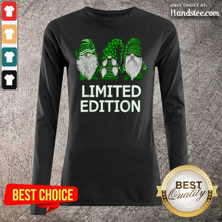 Limited Edition Gnomes 2 St Patricks Long-Sleeved - Design by Handstee.com