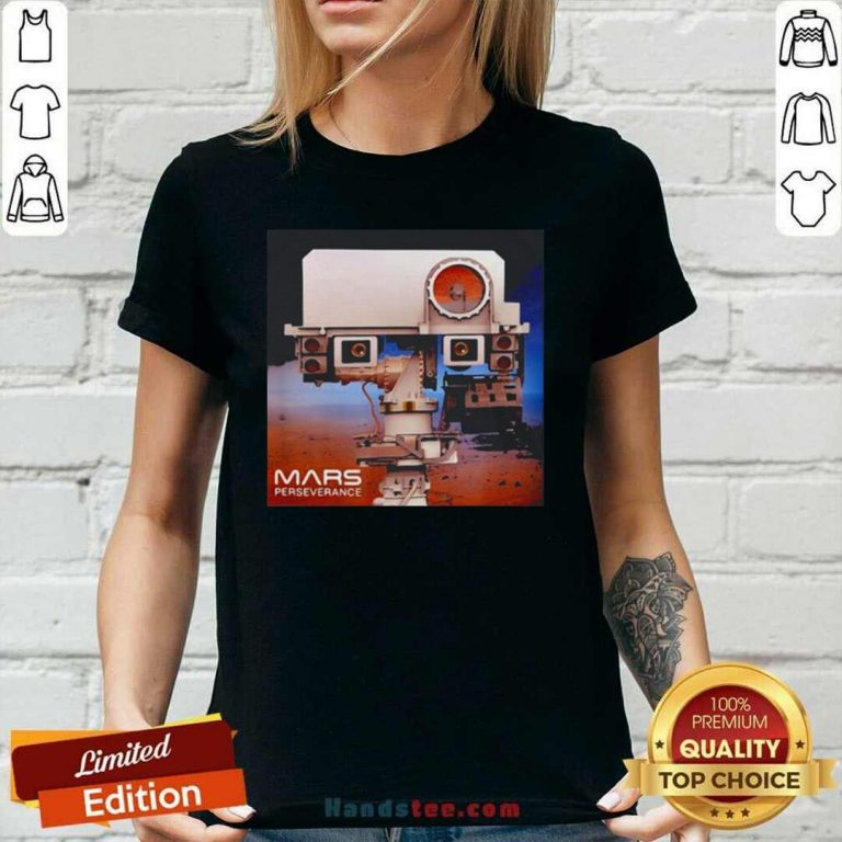 Lovely Mars 2020 Rover Mission Ladies Tee - Design by Handstee.com