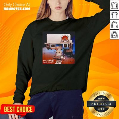 Lovely Mars 2020 Rover Mission Sweater - Design by Handstee.com