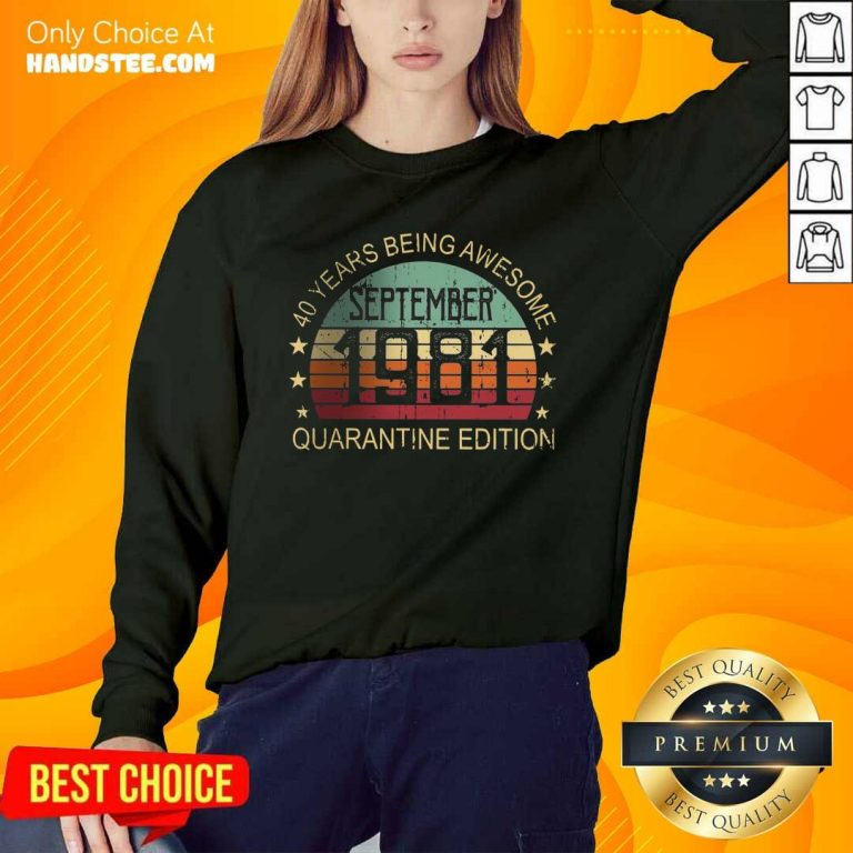 Positive 40 Years Edition September Sweater - Design By Handstee.com
