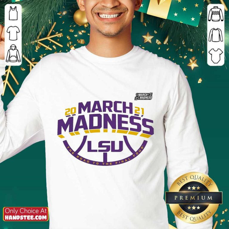 Positive LSU 2021 March Madness Sweater - Design By Handstee.com