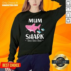 Premium 31 Mum Shark Doo Sweater - Design by Handstee.com