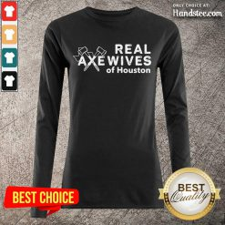 Relaxed Real Axewives Of Houston Long-Sleeved