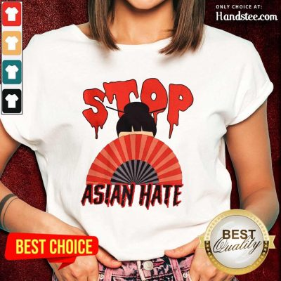 Relaxed Stop Asian Hate Japanese Girl Ladies Tee