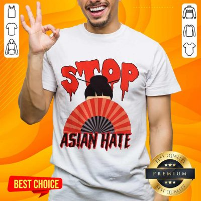 Relaxed Stop Asian Hate Japanese Girl Shirt