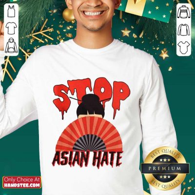 Relaxed Stop Asian Hate Japanese Girl Sweater