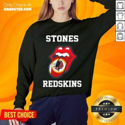 Super Amused The Stones Redskins 2021 Sweater - Design By Handstee.com
