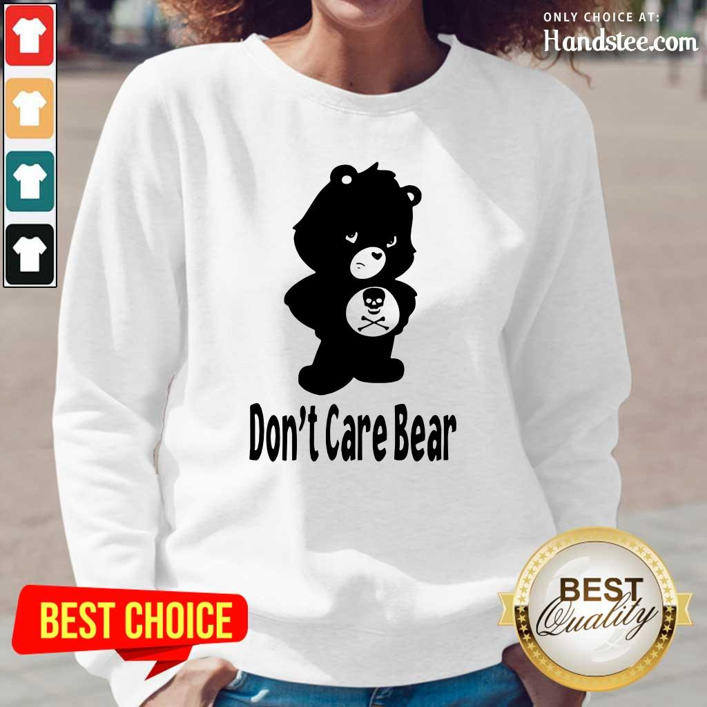 Surprised 7 Dont Care Bear Long-Sleeved - Design by Handstee.com