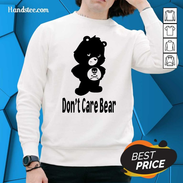 Surprised 7 Dont Care Bear Sweater - Design by Handstee.com