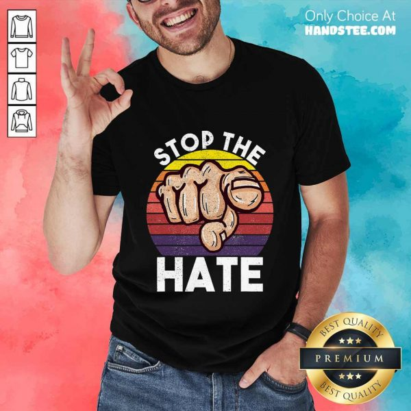 Terrific Stop Asian Hate Hand Vintage Shirt
