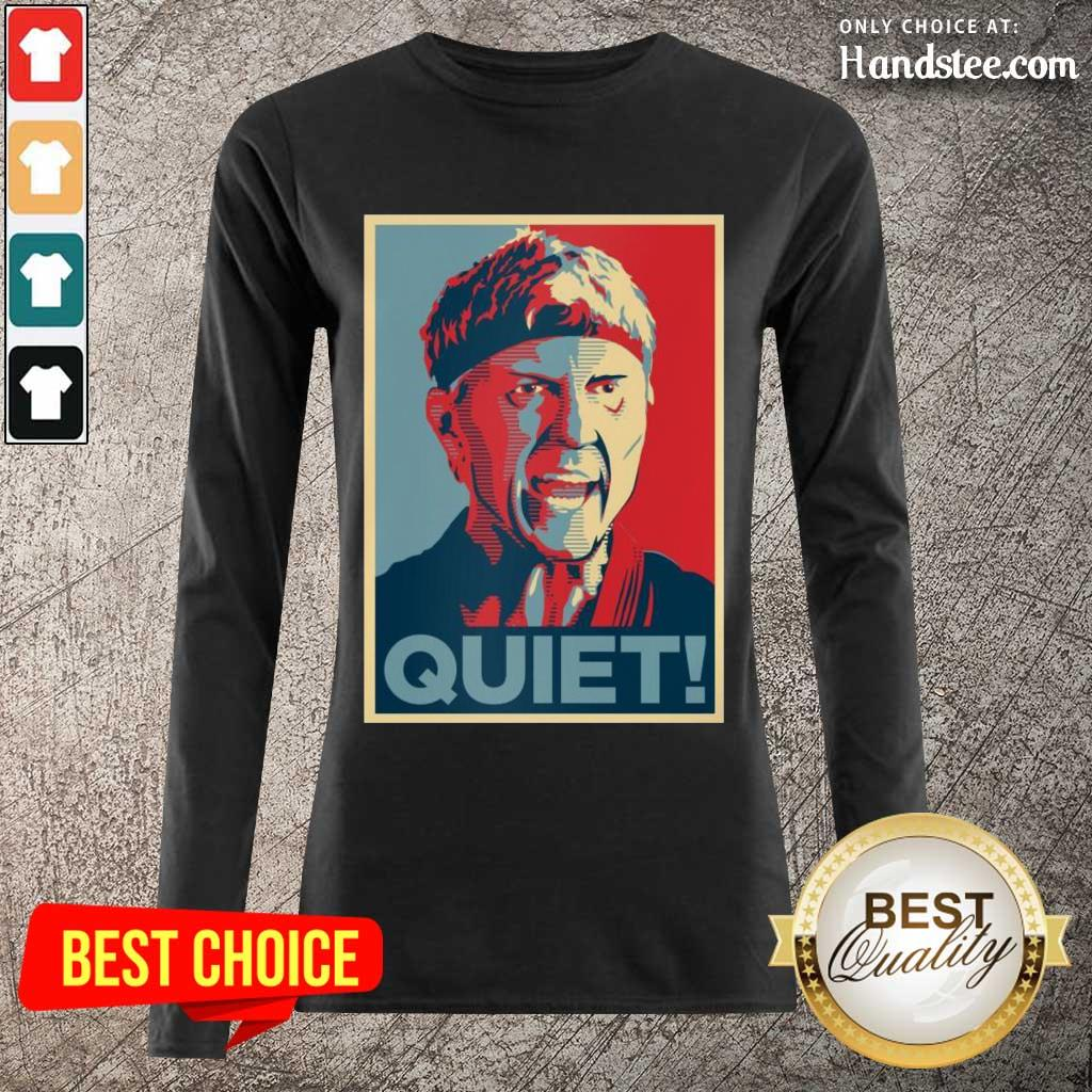 Wonderful Johnny Lawrence Quiet Long-Sleeved - Design By Handstee.com