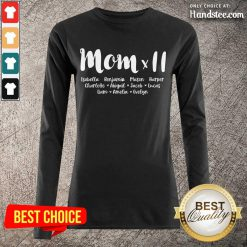 Amused Mom Day Gift Long-Sleeved
