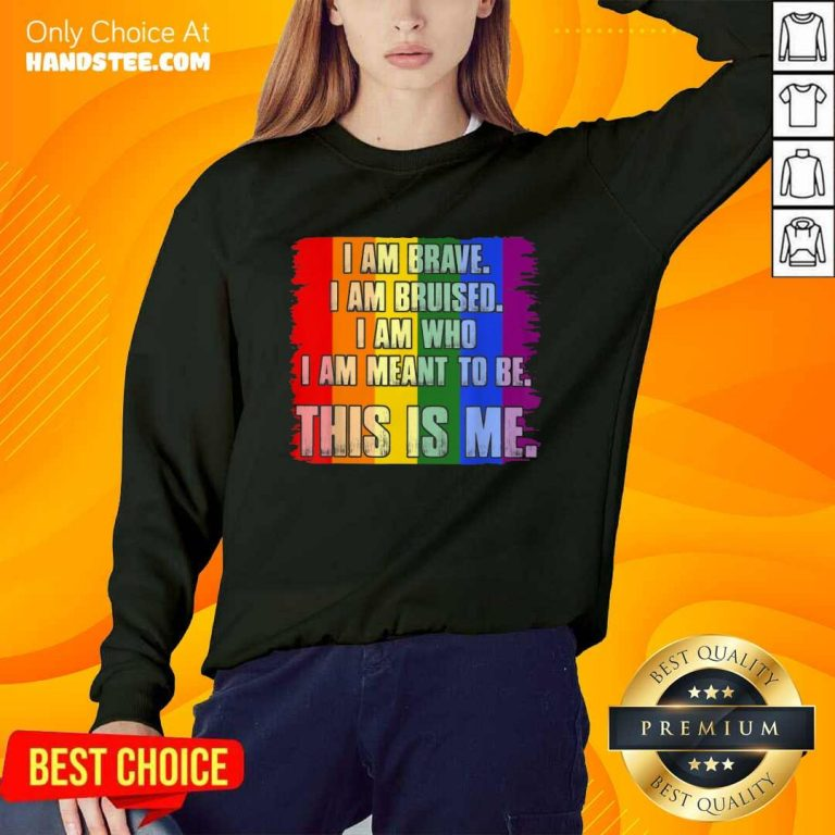 Amused This Is Me Inspirational LGBT Sweater