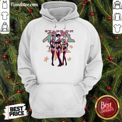 Confident Sailor Stars From Sailor Moon Stage On Hoodie