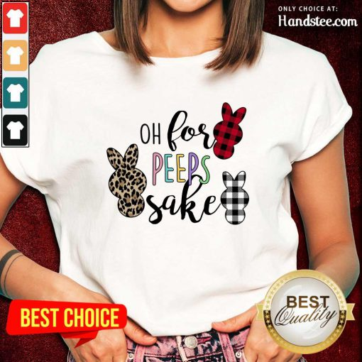 Delighted Rabbit Oh For The Sake Ladies Tee