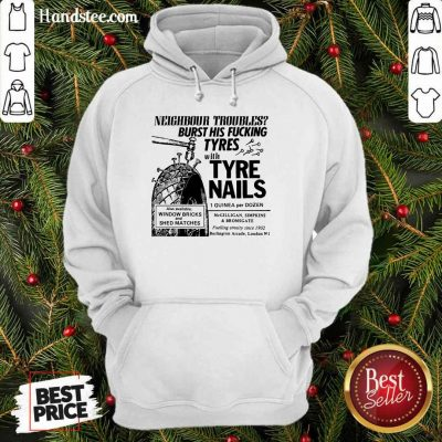Enthusiastic Tyre Nails Hoodie