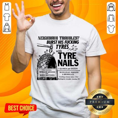 Enthusiastic Tyre Nails Shirt