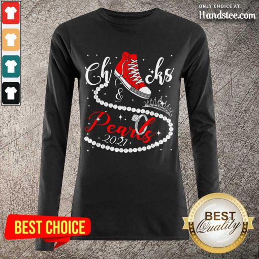 Excited Chucks And Pearls 2021 Long-Sleeved