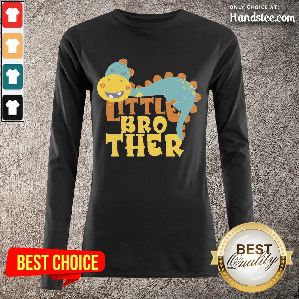 Excited Dinosaur Little Brother Long-Sleeved