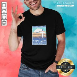 Funny Explore Cape May New Jersey Lighthouse Poster Shirt